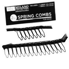 Milano Collection 2 Piece Deluxe Wire Comb with Mono Mesh Ribbon