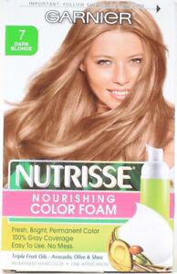 1 Garnier 7 Dark Blonde Nutrisse Nourishing Colour Foam Permanent Hair Color