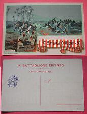 CARTOLINA COLONIALE IX° BATTAGLIONE ERITREO - ZUETINA  12 MARZO 1914 - DOYEN TO