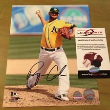 Ryan Cook Signed Autographed Oakland Athletics A's  8 X 10 Photo COA