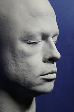 Brad Pitt 1:1 Life Mask - Fight Club - Mr. And Mrs. Smith - Seven - Troy