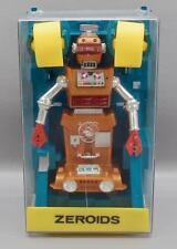 VINTAGE IDEAL ZEROIDS ZOBOR ROBOT IN ITS PLASTIC CASE - SUPER CLEAN