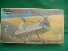 VERY RARE VINTAGE AIRFIX 1/72 SCALE BRISTOL 192 BELVEDERE HELICOPTER NEW IN BOX
