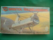 Très rare VINTAGE AIRFIX 1/72 scale Bristol 192 Belvedere Hélicoptère new in box