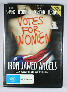 Iron Jawed Angels DVD TRACKED POST