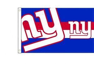 NFL Football Large Flag New York Ny Giants New Boxed 150x90cm