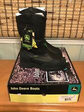 John Deere Waterproof Insulated MET Guard Work Miner Boots Size 7 W  New in Box
