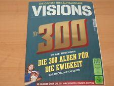 """VISIONS JUBILÄUMSAUSGABE 300 """" Die 300 Alben für die Ewigkeit"""" + CD & DVD 3/2018"""