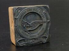 Masonic Letterpress Printing Block Belfast Masonic Lodge 684