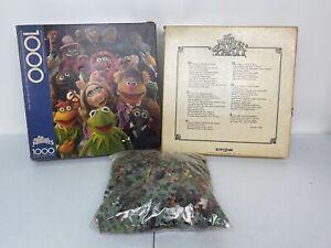 "Jim Henson - Muppets Party - 1000 Piece 1978 Springbok Jigsaw Puzzle - 24"" X 30"""