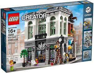 Lego Creator Expert Modular Building Brick Bank 10251 (2016) Pre-Owned