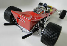 1960s Ford F1 Lotus Race Car Vintage Racer 1 18 Midget Metal Model Carousel Red
