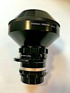 Nikon Fisheye-Nikkor Auto 1:2.8 f=8mm
