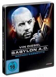 Babylon A.D. - Uncut [Blu-ray im Steelbook/NEU/OVP] Endzeit-Action / Vin Diesel,