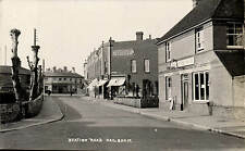 Hailsham. Station Road & The Coffee House.