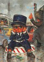 Carte Postale Poulbot,Gamin de Paris ( Les petits N°132) - Michel Thomas