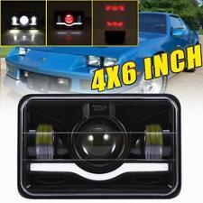 "4X6"" 180W DOT LED Headlights HI/LO DRL For Chevrolet Camaro C10 C20 C30 Pickup"
