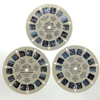 Lot 3 Worlds Fair Brussels 1958 Sawyers Inc Reels View Master S422
