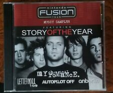 Nintendo Fusion Tour Music Sampler CD USED Good $2 My Chemical Romance Anberlin