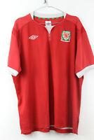 UMBRO Wales Football Shirt size XXL
