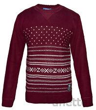 Adidas Originals Mens Knit Jumper New Acrylic and Wool Blend Ribbed Trim BNWT