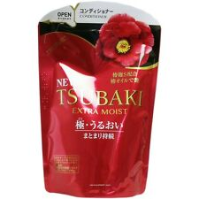 JAPAN SHISEIDO TSUBAKI-CAMELLIA EXTRA MOIST CONDITIONER REFILL(345ml)HAIR CARE