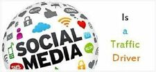 Unlimited Social Media Website Traffic for Life,SEO & Adsense Safe,Sales Inc+