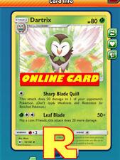 4x Dartrix - for Pokemon TCG Online ( ptcgo in Game Card)