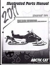 2011 ARCTIC CAT SNOWMOBILE BEARCAT 570 PARTS MANUAL P/N 2258-789  (748)