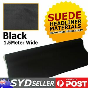 Car Headliner Fabric Foam Backed Faux Suede Material Upholstery 151cm x 90cm DIY