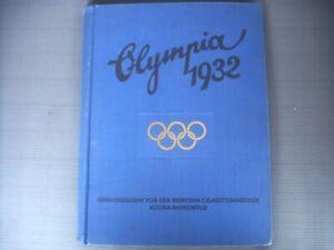 Sammelbilderalbum Olympia 1932 Los Angeles olympische Spiele Reemtsma Buch alt