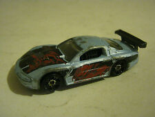 Hot Wheels Silver Olds Aurora GTS-1, dated 1998, Fair Condition (EB8-24)