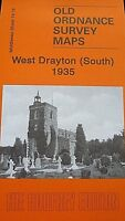 Old Ordnance Survey Detailed Maps West Drayton South Middlesex 1935 Godfrey Edit