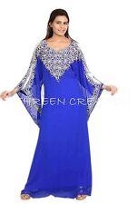 Dubái Mujer Farasha Maxi Georgette Boda Vestido 1108