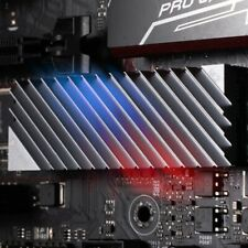 Aluminum M.2 SSD Heat sink Cooler  with Thermal Pads 2280