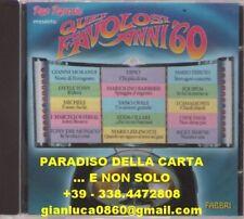 QUEI FAVOLOSI ANNI '60 (CD, Red Ronnie, Fabbri editori, anno 1966/04)