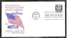 US SC # O132 Official Mail USA FDC. Artmaster Cachet.