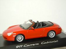 Porsche 911 996 Carrera Cabriolet - Minichamps 1:43 in Box *30320
