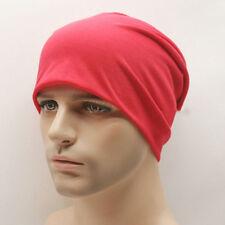 Jersey Beanie Hat Lightweight Thin Stretch Slouch Cap Summer Festival Ladies Men