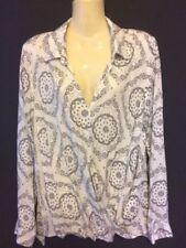 Regular Size Viscose Paisley Tops & Blouses for Women