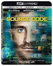 Source Code (4K Ultra HD + Blu-ray + Digital Copy)(slipcase) NEW SEALED