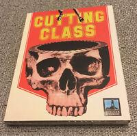 Cutting Class 1988 Blu-ray + DVD w/RARE OOP Slipcover Vinegar Syndrome Brad Pitt