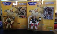 1998 Starting Lineup Figurine NHL Patrick Roy Dominik Hasek Goalies Lot of 2