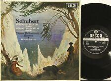 SXL 6173 WBg Schubert Quintet in C, Trio in B flat, Vienna Philharmonic Quartet