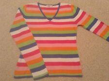 Women's V-Neck Cotton Top Size M(12)