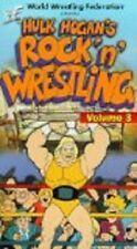 WWF Hulk Hogan's ROCK 'N' WRESTLING Volume 3 VHS VIDEO CARTOON