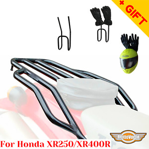 For Honda XR400 rear rack XR250R Motard Rear luggage rack XR250 Baja, Bonus