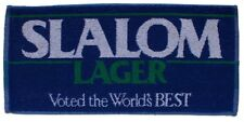 SLALOM LAGER Pub Beer BAR TOWEL