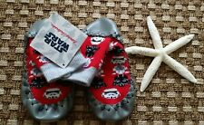 NWT HANNA ANDERSSON BOYS STAR WARS SWEDISH MOCASSINS SLIPPERS SHOES 10 12