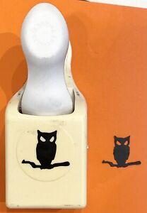 RARE! OWL & BRANCH by Martha Stewart Halloween DoublePunch hoo hallows eve fly